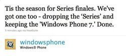 Windows Phone 7 Series now Officially just Windows Phone 7