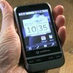 Vodafone 845 Android Handset Video Hands-on