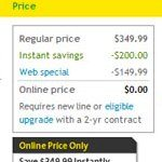 Palm Pixi- Sprint Online Price is Free after Savings