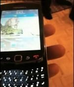 BlackBerry Bold Slider 9800 Sporting OS 6 Captured on Video