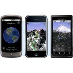 Google Earth for Mobile- Better on Nexus One, iPhone, or Droid