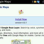 Google Maps v4.0.1 Update for BlackBerry- Consumer Reviews