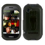 Verizon Kin Two Accessories- Body Glove Rubber Snap On Cover