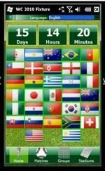 World Cup 2010 Fixtures App for Windows Phones Demo Video