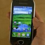 Samsung i5801 Possibly Galaxy 3 Hands-on Video