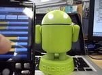 Android Bot Goes Robotic: Video