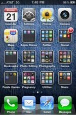 iOS 4 Folders, Want To Show Off Yours?