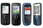 Nokia Intros C1-00, C1-01, C1-02, C2 Low Cost Phones