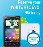 HTC EVO 4G White Release Date Exclusive at Best Buy