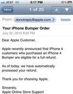 iPhone 4 Bumper Refunds Started By Apple
