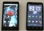 Motorola Droid X against HTC EVO 4G Confrontation Videos