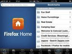 Firefox Home for iPhone App Available Now