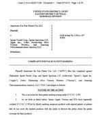 Apple and Others Sued Under False Marking Statute