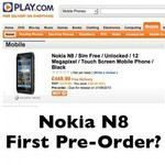 Nokia N8 Pre-order Release Date and Price