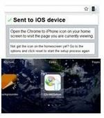Chrome to iPhone Plays Nice with iOS Devices