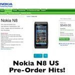 Nokia N8 up for Pre-order in US and Due Release September