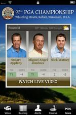 PGA Championship 2010 iPhone App, iOS 4 and Retina Compatible