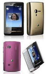 Sony Ericsson X10 Mini and Pro Get Colour Makeover