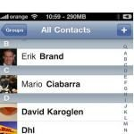 Jailbreak iPhone App aka iPicMyContacts: Picture Next to Name