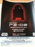 Droid R2-D2 Verizon Release Star Wars Giveaway
