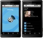 Shazam Android App Preloaded on LG Smartphones Including Optimus GT540