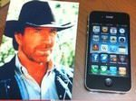 Apple iPhone 4 Telstra Reception Improves with Chuck Norris: Video