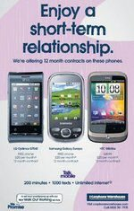 Android Smartphones 12 Month Contracts Offered From Carphone Warehouse