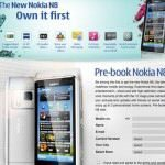 Nokia N8 Available for Pre-order in India