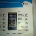 Nokia N8 £130 Cheaper from Tesco