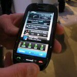 Nokia C7 Handled on Video at Nokia World 2010
