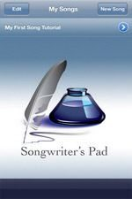 Songwriter's Pad App for iPhone Released: Video