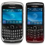 AT&T BlackBerry Curve 9300 and Pearl 9100 Available