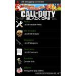 Call Of Duty Black Ops Android App: Perks, Weapons, Kill Streaks