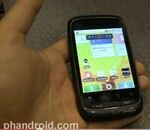 Motorola Citrus Android for Verizon Handled on Video