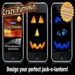 Halloween App for iPhone: Crazy Pumpkin
