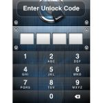 iPhone 4 Password Security Unlock Warning: Stops Incoming Calls