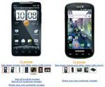 Amazon Cheap Deal HTC EVO and Samsung Epic