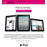 T-Mobile UK iPad Price Plans- Will You Buy via Apple Still