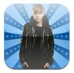 Justin Bieber Concentration Game for iOS Devices