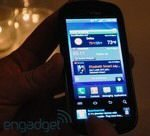Android Samsung Continuum Handled on Video