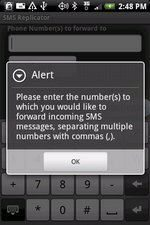 Android Reveal App Counters Secret SMS Replicator