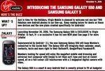 Samsung Galaxy 550 Virgin Canada Launch Date Nov 20th