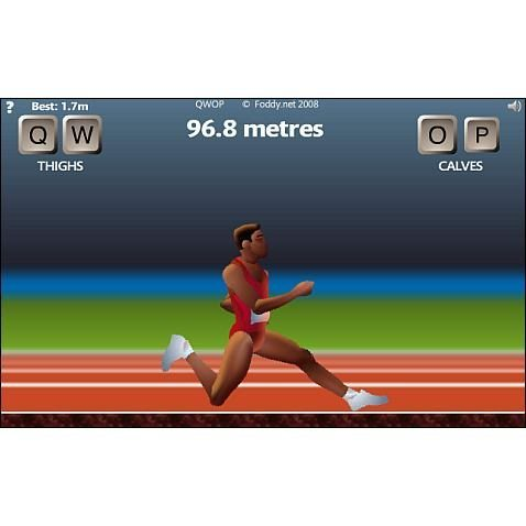 QWOP Game Play Coming to iPhone- Its Strategy