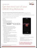 Motorola Droid X Update (Not Gingerbread): Madden 2011