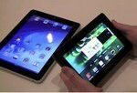 Apple iPad vs. BlackBerry PlayBook Tablet Battle Video
