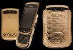 BlackBerry Torch Goes Upmarket In Gold