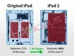 Apple iPad 2 Has Much Bigger Battery