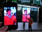 iPhone Hacks Times Square Video Screens