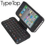 iPhone 4 Case & TypeTop Swivel Mini Bluetooth Keyboard Hands-On Review