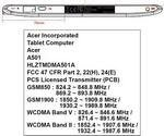 Honeycomb Acer Iconia Tab A501 Visits FCC Heading AT&T Way